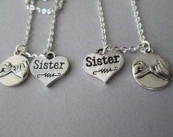2 Pinky Promise, Sister Necklaces