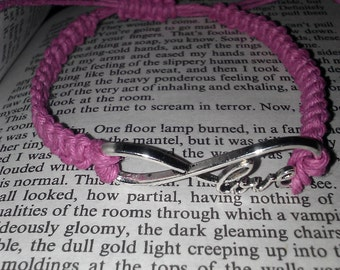 Infinity Love Hemp Bracelet