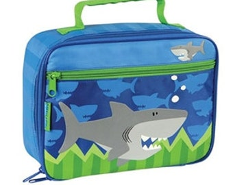 Stephen Joseph Shark Lunch Box (Name or initial included)