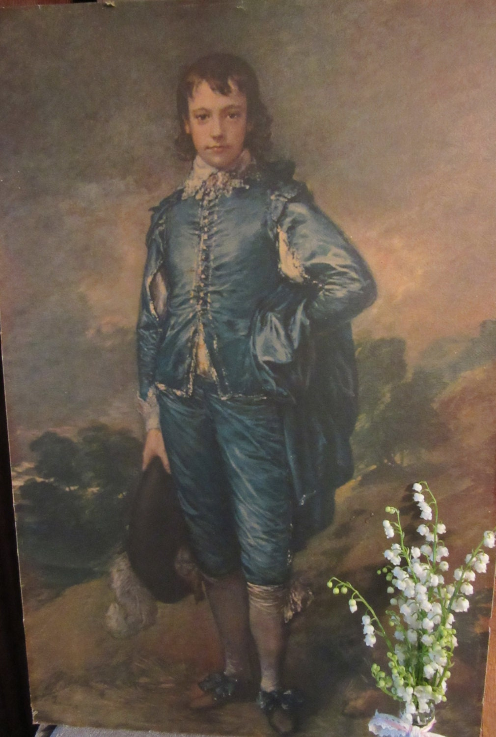 an analysis of the blue boy a painting by thomas gainsborough This is an antique miniature portrait painting which is a copy of a painting by thomas gainsborough known as the boy in blue it is unsigned oil painting signed l thomas little boy blue 2 1/2 x 3 5/8.