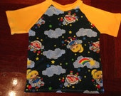 Size 5 Tee, custom knit fabric. Twink!
