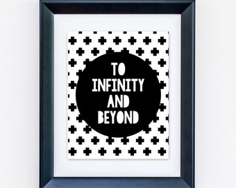 "To Infinity And Beyond 8x10"" Giclee Print"