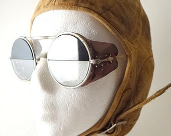 Antique Willson Ful Vue Welders Safety Glasses