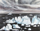 The Passage - Iceberg Painting - Original