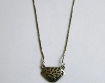 Silver - Modernist - Israeli - Necklace