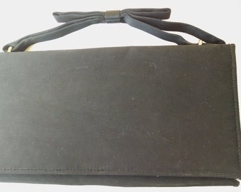 Little Black Evening Bag- Prom Bag   ECS