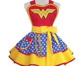 Wonder Woman Apron, Made To Order
