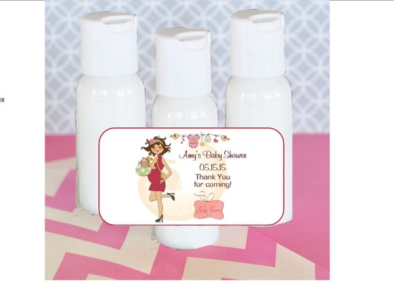 Baby Shower Favors Hand Lotion ~ Hand lotion baby shower favor new mommy