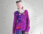 UTHA statement sweater, merino sweater, oversized sweater