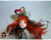 Ooak  pixie of the forest Ricciocapriccio - ON  SALE-  -