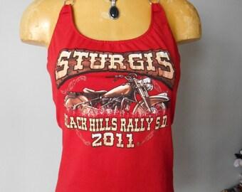 Sturgis halter top DIY Black Hills Rally Biker Motorcyles