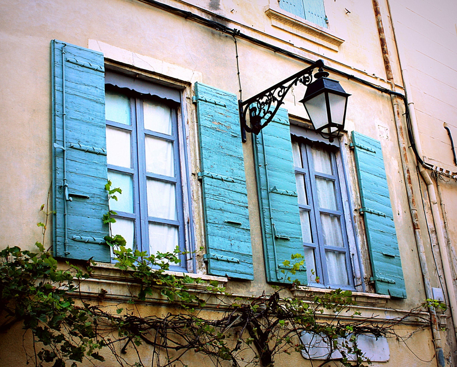 Country french decor rustic french window photo distressed for French country windows
