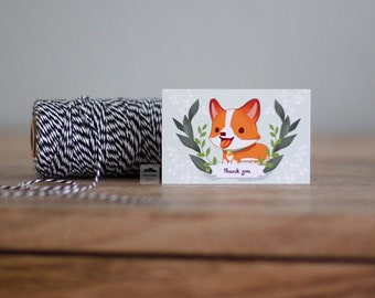 Corgi Small Note Cards
