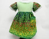 Shamrocks On Rainbow St Patricks Dress For 18 Inch Doll Like The American Girl
