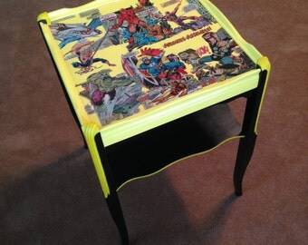 Comic Book Table Etsy
