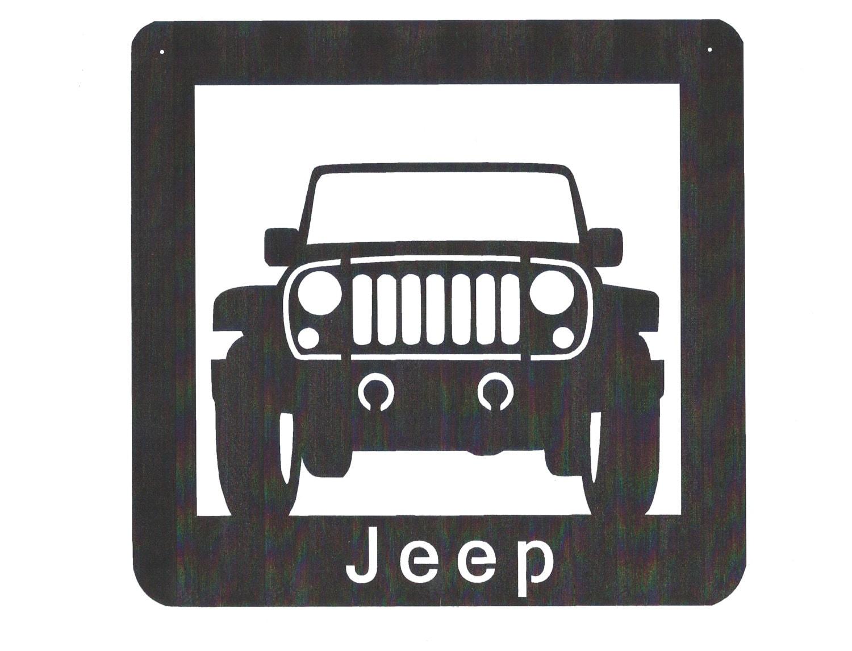 Galerry metal signs jeep