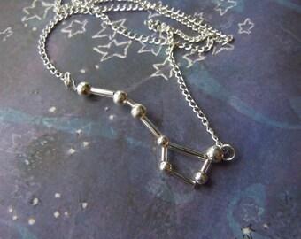 Biolojewerly - Constellation Necklace - Big Dipper - Ursa Major