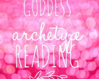 Goddess Archetype Tarot Reading- E-mail