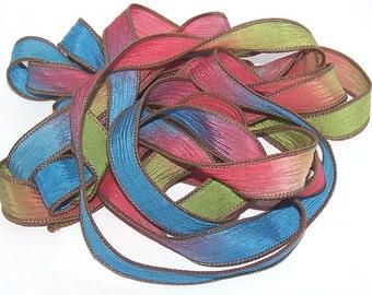 Sassy Silks Hand Painted Silk Ribbon Gumdrops