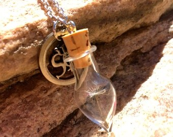 Weed or Wish Necklace
