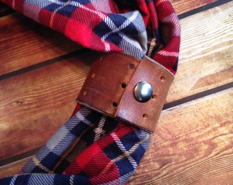 Genuine Leather Cuff for Your Scarf!