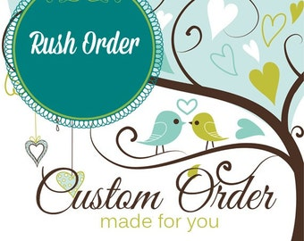 Rush Order - This listing will upgrade one stroller set