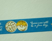 1 Roll Japanese Washi Masking Paper Tape - Friendship and Love