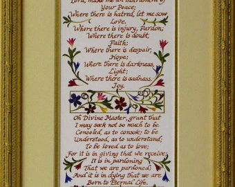 St. Francis Prayer