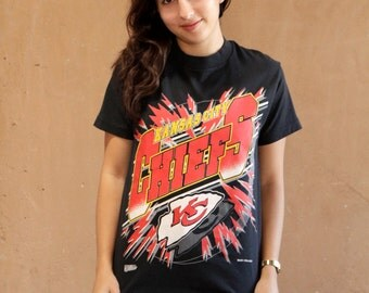 90s vintage NFL kansas city chiefs t-shirt