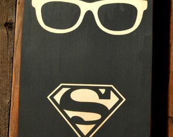 Superman Logo Kent Clark