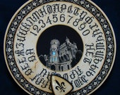 """FREE SHIPPING Ouija board - Spiritistic board - Talking board """"The Secret of the Old Mansion"""""""