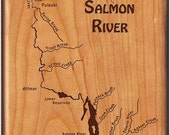 SALMON  RIVER  MAP   Fly ...