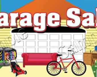 Garage / Yard Sale - Custom Banner