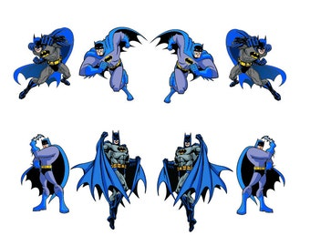 Batman digital clipart vector eps png files Clip Art Images Instant