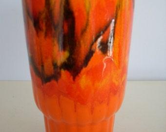 1970's Vintage Pottery Vase