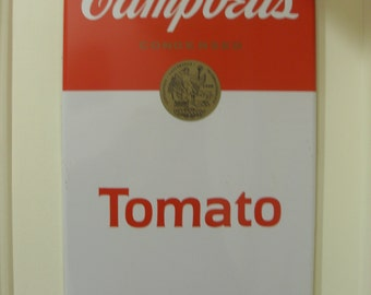 Vintage Campbells Tomato Soup Tin Sign