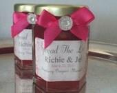 Wedding Jam Shipping Add on for MLS Order /2 oz Jams/100 Gem Decorated