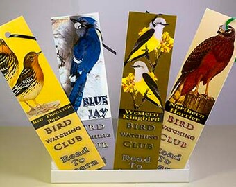 Bird Watching Bookmarks
