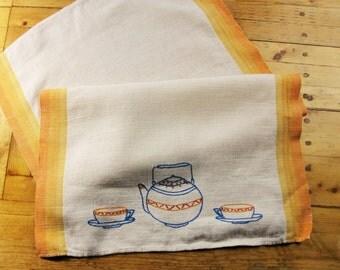 Teapot Towel Etsy