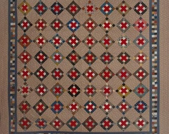 The Red Cross Quilt Pattern