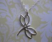 SS Dragon fly necklace SS  I love jewelry Sterling   jewelry Dragonfly jewelry