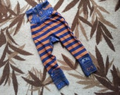 Ravenclaw Spells and Coordinating Stripes Circle Butt (Monster Bunz) Pants - Slim Fit