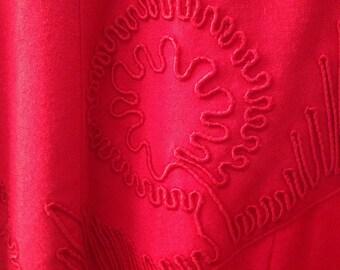 Vintage size 8 red  dress