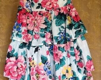 Garden party 80s Sundress small