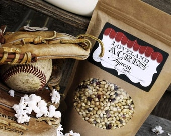 Gourmet Food Gift Popcorn 1 Pound Kansas Grown Confetti Kernels