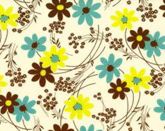 Kei  Vintage Time Floral Color C for  Yuwa of Japan