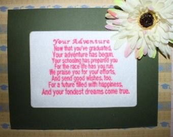 Graduation Poem Graduation Saying Digitized Machine Embroidery Design Graduation School