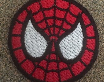Spider Hero Iron on or sew on Patches