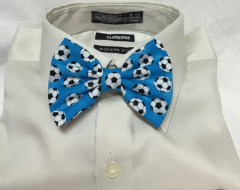 Soccer Ball Print Bowtie / Bow Tie