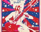 Brian Jonestown Massacre UK Poster by artist: Darren Grealish